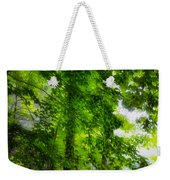 Green Forest Trees 1 Weekender Tote Bag