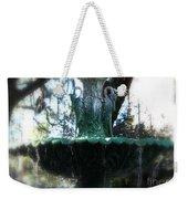 Green Fountain Weekender Tote Bag