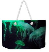 Green Freakiness Weekender Tote Bag