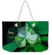 Green Glass Wheels Weekender Tote Bag