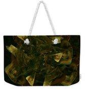 Green Gold Weekender Tote Bag
