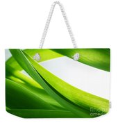 Green Grass Background Weekender Tote Bag