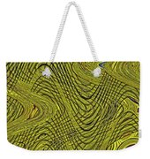Green Grass Behind The Fence #9 Weekender Tote Bag