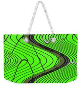 Green Grass Behind The Fence Weekender Tote Bag