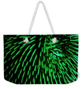 Green Hairy Blob Weekender Tote Bag