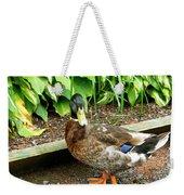 Green Head Mallard Duck 2 Weekender Tote Bag