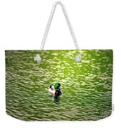 Green Head Weekender Tote Bag