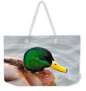 Green Head Weekender Tote Bag