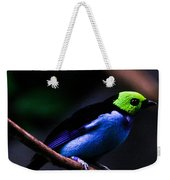 Green Headed Bird Weekender Tote Bag
