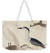 Green Heron, Night Heron, Young Heron, And Great White Heron Weekender Tote Bag