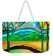 Green Hill Country Weekender Tote Bag