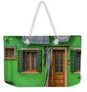 Green House And Hanging Wash_dsc5111_03042017 Weekender Tote Bag