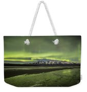 Green Ice Weekender Tote Bag
