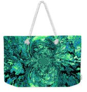 Green Irrevelance Weekender Tote Bag