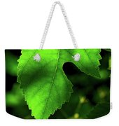 Green Is The Mulberry Leaf Weekender Tote Bag