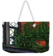 Green Ivy Garnet Brick Weekender Tote Bag