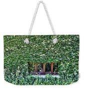 Green Ivy Window  Weekender Tote Bag