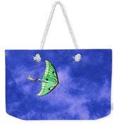 Green Kite Weekender Tote Bag