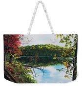 Green Lakes Weekender Tote Bag