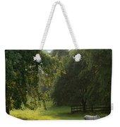 Green Land Weekender Tote Bag