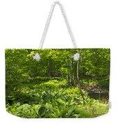 Green Landscape Of Summer Foliage Weekender Tote Bag