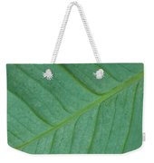 Green Leaf 1 Weekender Tote Bag