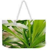 Green Leaf Weekender Tote Bag