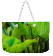 Green Leaves At Cantigny Weekender Tote Bag
