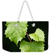 Green Leaves Weekender Tote Bag