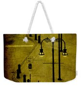 Green Light Weekender Tote Bag