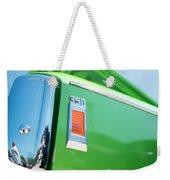 Green Machine Weekender Tote Bag