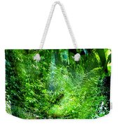 Green Man Weekender Tote Bag