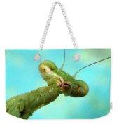 Green Martian Weekender Tote Bag