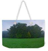 Green Meadow In Autumn Weekender Tote Bag