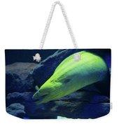 Green Moray Eel Weekender Tote Bag