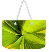 Green Mosaic Weekender Tote Bag