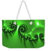 Green Mystery Weekender Tote Bag