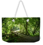 Green Nature Bridge Weekender Tote Bag