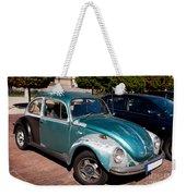 Green Old Vintage Volkswagen Car Weekender Tote Bag