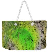 Green On Center Stage Weekender Tote Bag