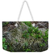 Green On Rocks Weekender Tote Bag