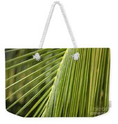Green Palm Leaf Weekender Tote Bag