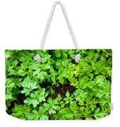 Green Parsley 2 Weekender Tote Bag