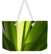Green Patterns Weekender Tote Bag