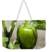 Green Pepper Weekender Tote Bag