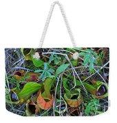 Northern Pitcher Plant Weekender Tote Bag
