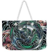 Green Planet Weekender Tote Bag