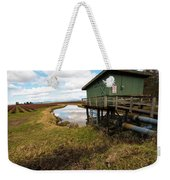 Green Pump House Weekender Tote Bag