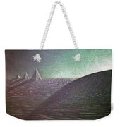 Green Pyramid B Weekender Tote Bag
