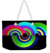 Green Rainbow Weekender Tote Bag